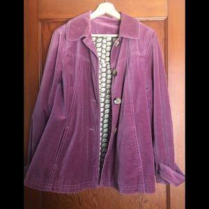 Boden Velvet Jacket ISO